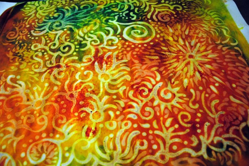 dylon fabric paint instructions