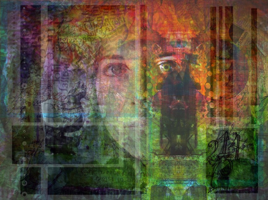 digital collage - this looks familiar from somewhere..!