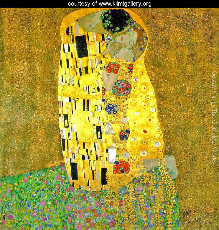 The Kiss - Gustav Klimt (1908)