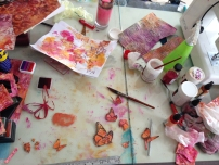 an untidy desk is the sign of...