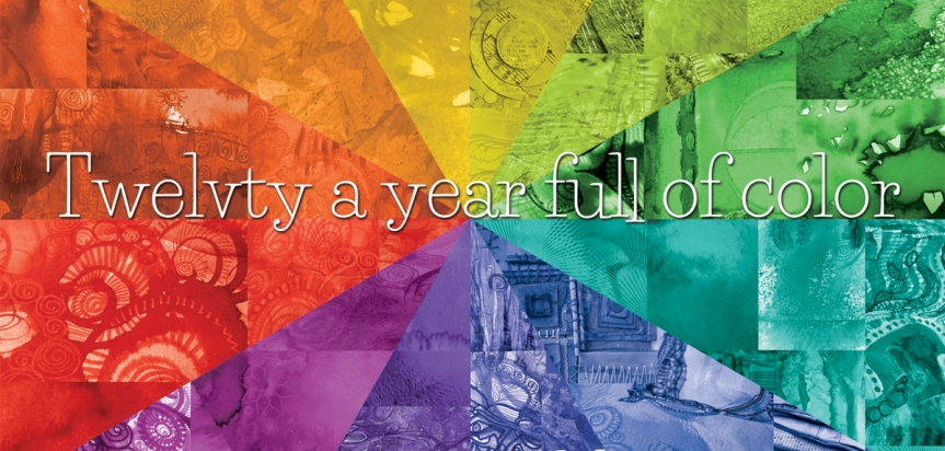 Twelvty a year full of color